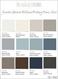 favorite pottery barn paint colors from sherwin williams 2014