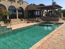 Beautiful Pools Swimming Pool Tiles 6 Shades Of Green And Blue Make This