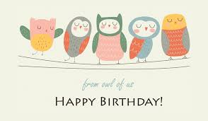 free e mail birthday cards free happy birthday from owl of us ecard email free personalized
