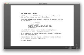 screenplay template download a sample hollywood studio script