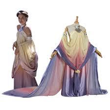 aliexpress com buy star wars padme amidala cosplay costume long