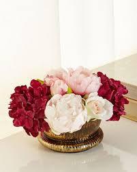 faux flowers faux floral arrangements u0026 faux florals horchow