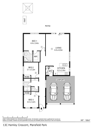hamleys floor plan 13c hamley crescent mansfield park sa residential house sold