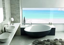 design badewannen halb freistehende badewanne halb wandstehend mastella design
