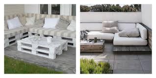 canapé de jardin en palette faire salon de jardin en palette meilleur idées de conception de