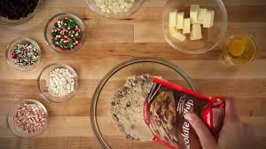 chocolate chip christmas cookies youtube