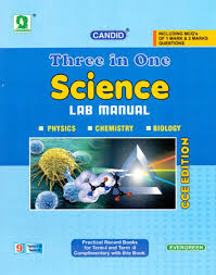 candid three in one science lab manual term i u0026 ii class 9 buy