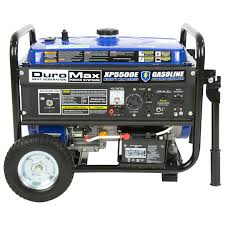 duromax xp5500e 5 500 watt 7 5 hp portable electric start gas