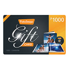 1000 gift card gift kit with 1000 gift card fotosnaps