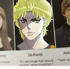 Dio Meme - 25 best memes about dio brando and dio brando and memes