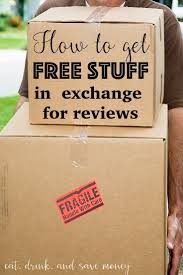 find out how to get free stuff by reviewing items free