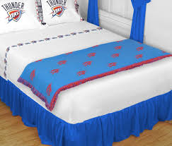 Free Furniture In Oklahoma City by Oklahoma City Thunder Bed Runner Throw Blanket Blanket Warehouse