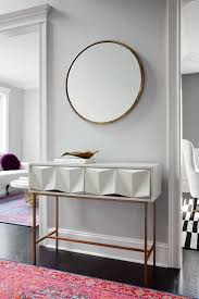 Narrow White Console Table Living It Up In The Chicago Suburbs Consoles Console Tables And