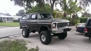 mudding truck for sale 78 ford bronco mud truck project trucks gone wild classifieds