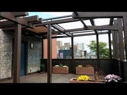 Motorized Awning Nyc Terrace Deck Pergola Shade Motorized Awning Tosa Design