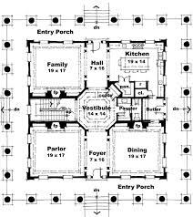 classical house plans classical style house plan 3 beds 3 50 baths 4500 sq ft plan 64 321