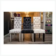 crushed velvet dining room chairs u2013 chic home accessories
