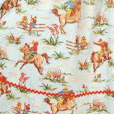 cowboy wrapping paper western cowboy swing dress cats like us