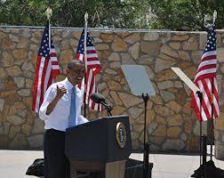 El Paso Texas Flag President Obama Visits El Paso