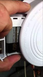 Green Light On Smoke Detector Fixing A Chirping Smoke Detector Youtube