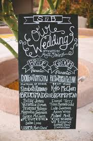wedding program chalkboard 58 best diy april s wedding images on wedding