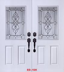 stained glass door patterns stained glass door inserts and wrought iron door inserts