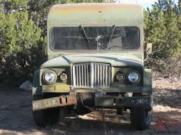 jeep kaiser custom jeep kaiser m725 military ambulance truck camper original