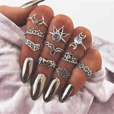 knuckle finger rings images Retro vintage knuckle rings trendy shop deals jpg