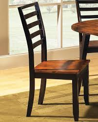 buy wood dining side chair in acacia finish by steve silver from