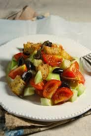 cuisiner concombre panzanella tomate concombre recette tangerine zest