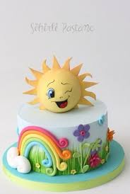sun cake by sihirli pastane learn cake decorating with cake and