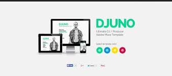 20 beautiful muse templates for personal websites