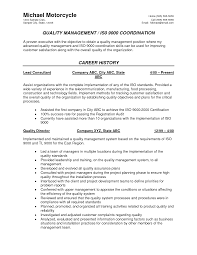 Quality Assurance Resume Samples by Resume Example Quality Control Augustais