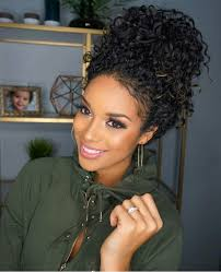 pics of black pretty big hair buns with added hair curly hairstyles black woman hair pinterest curly hairstyles