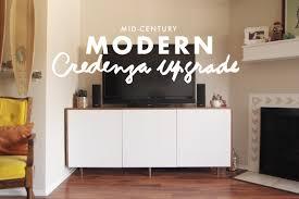 diy mid century modern credenza upgrade u2013 jamie bartlett design