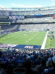 Metlife Stadium Map Metlife Stadium Section 123 Home Of New York Jets New York Giants