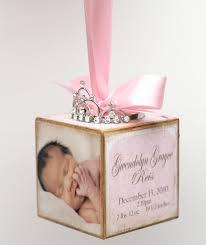 no 10 personalized pink princess tiara birth announcement photo