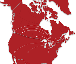 Jet Blue Route Map Jetlines Canada U0027s Ultra Low Cost Airline Affordable Flights