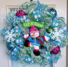 christmas wreaths christmas wreath snowman wreath holidays