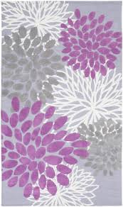 abigail floral burst rug in orchid by surya rosenberryrooms com