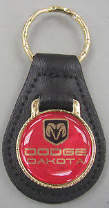 dodge dakota key fob vintage nos dodge dakota black leather keyring key fob key
