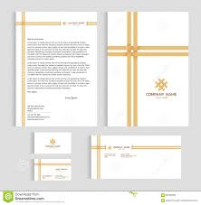 Business Letter Cover Page Layout Template Size A4 Cover Page Business Card And Letter