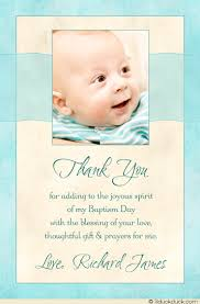 blessed baby photo thank you card christening baptism baby