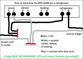 how to hard wire the stc 1000 homebrewtalk com beer wine