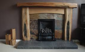 Distressed Wood Fireplace Surround Fire Surrounds Chunky Oak Designs Fabulous Oak Creations From