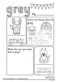 grey activities kids