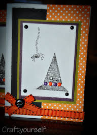 halloween frame craft handmade halloween card craft