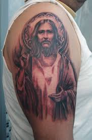 jesus on biceps photo 2 photo pictures and