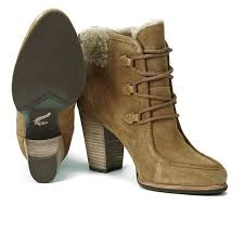 ugg boots australia reviews ugg s analise lace up heeled ankle boots chestnut free