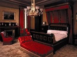 Best Romantic Red Bedroom Images On Pinterest Red Bedroom - Dark red bedroom ideas
